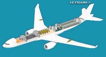 El avión presidencial de Sarkozy
