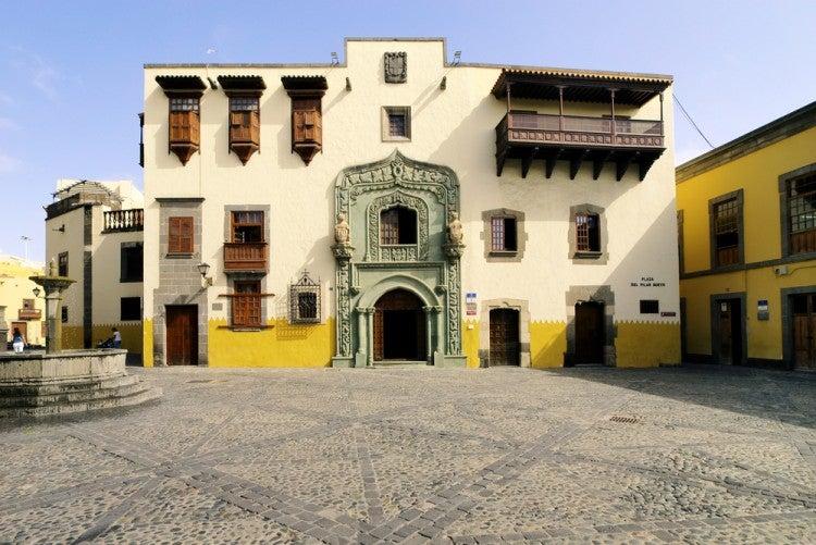 Casa de Colón, en el barrio de la Vegueta en Las Palmas de Gran Canaria