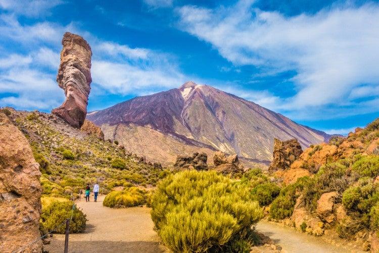 Parque Nacional del Teide en la isla de Tenerife