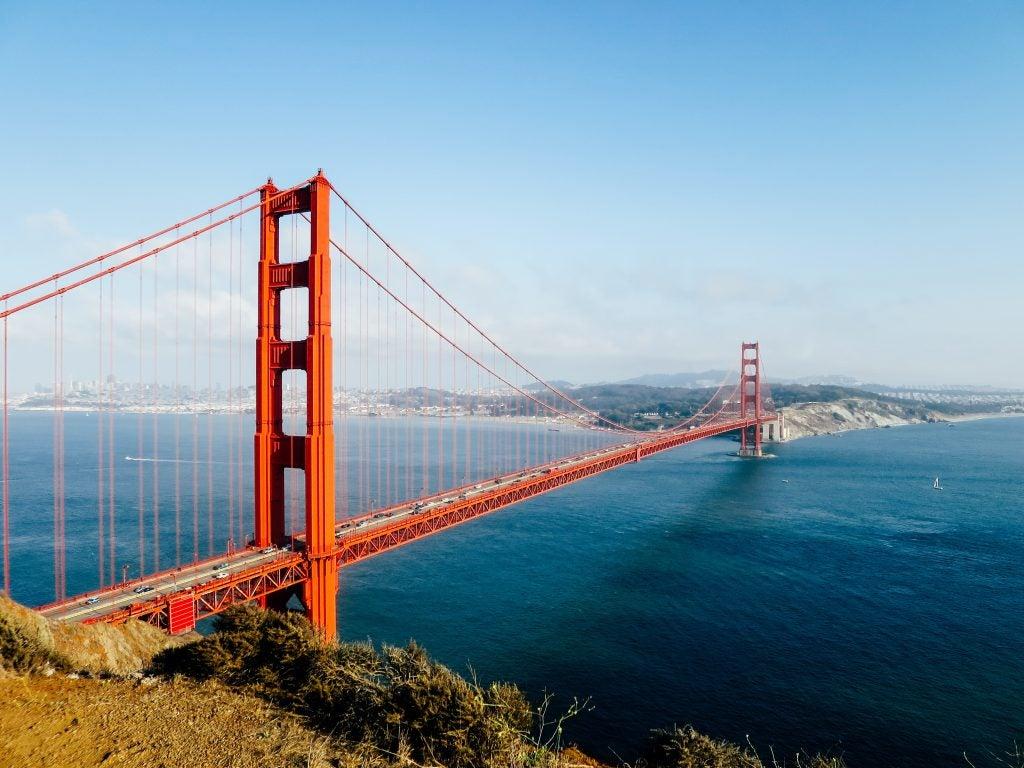 El puente Golden Gate. Sant Farncisco