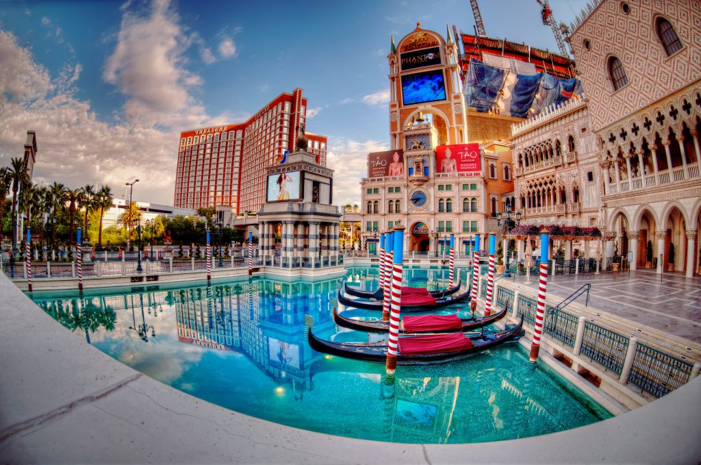 Hotel Casino Venetian. Las Vegas