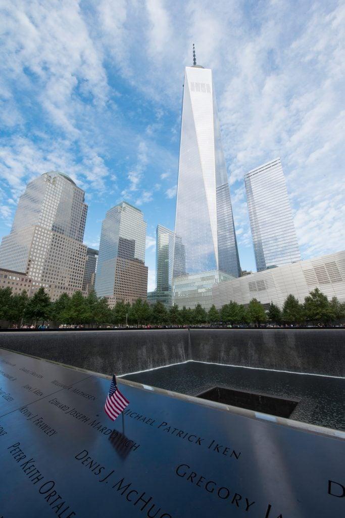 Memorial del 9/11 Nueva York, distrito financiero