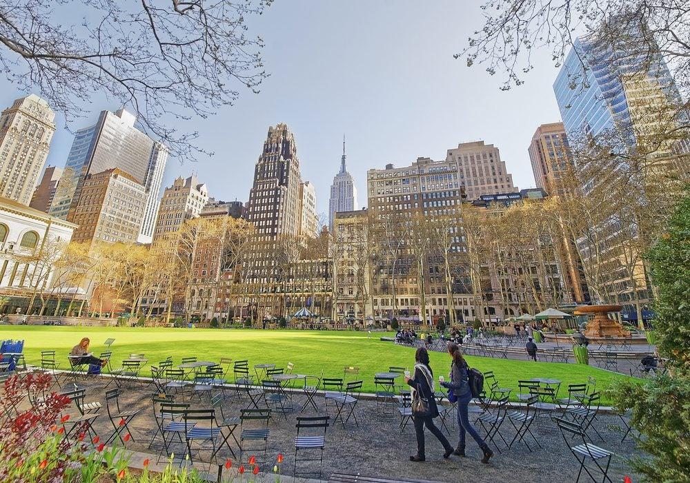 Bryant Park Nueva York, Manhattan