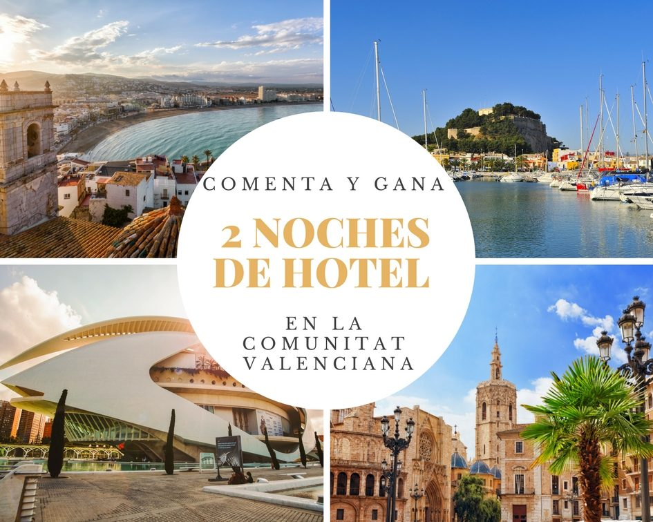 Gana dos noches de hotel en la ciudad de la Comunidad Valenciana que elijas