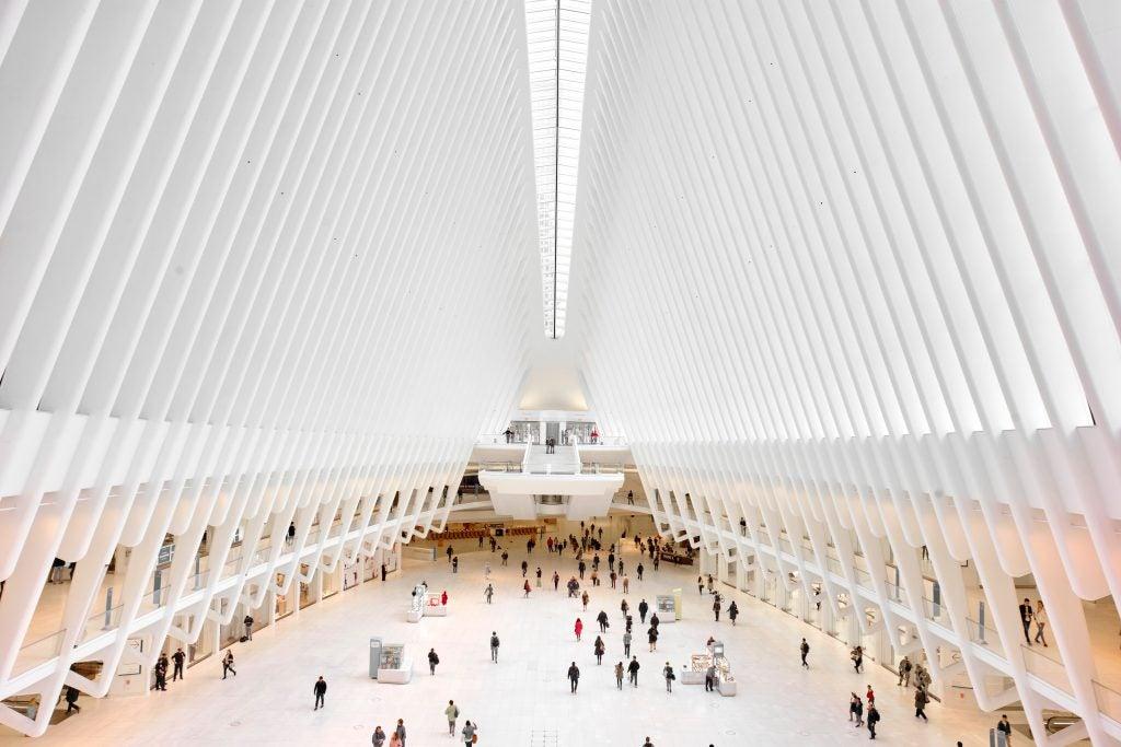 Oculus Calatrava estación