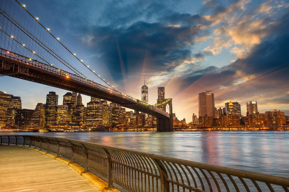 Puente de Brooklyn vistas