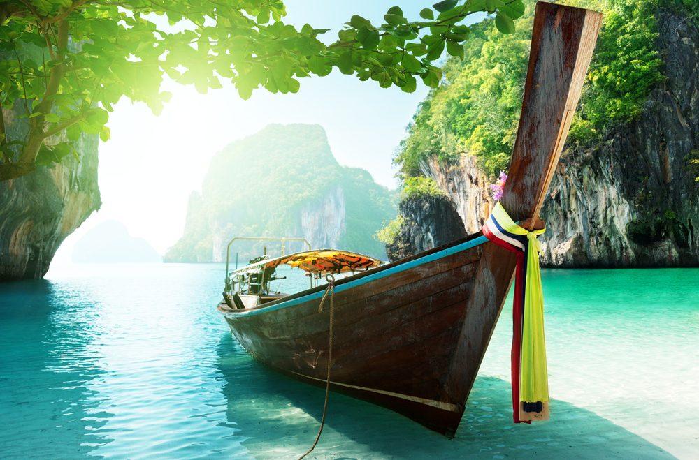 Barca de Tailandia