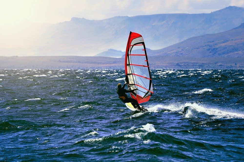 Cuesta del Viento windsurf Argentina