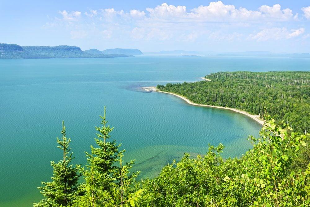 Lago superior Estados Unidos