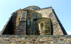 Basílica de San Martin Mondoñedo, Lugo. Iglesia más antigua de España.