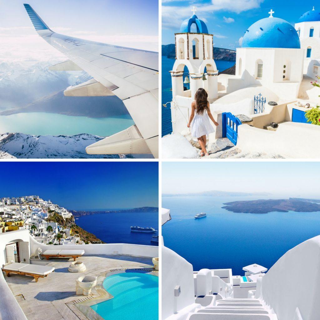 Vuelo más hotel barato en Santorini con eDreams