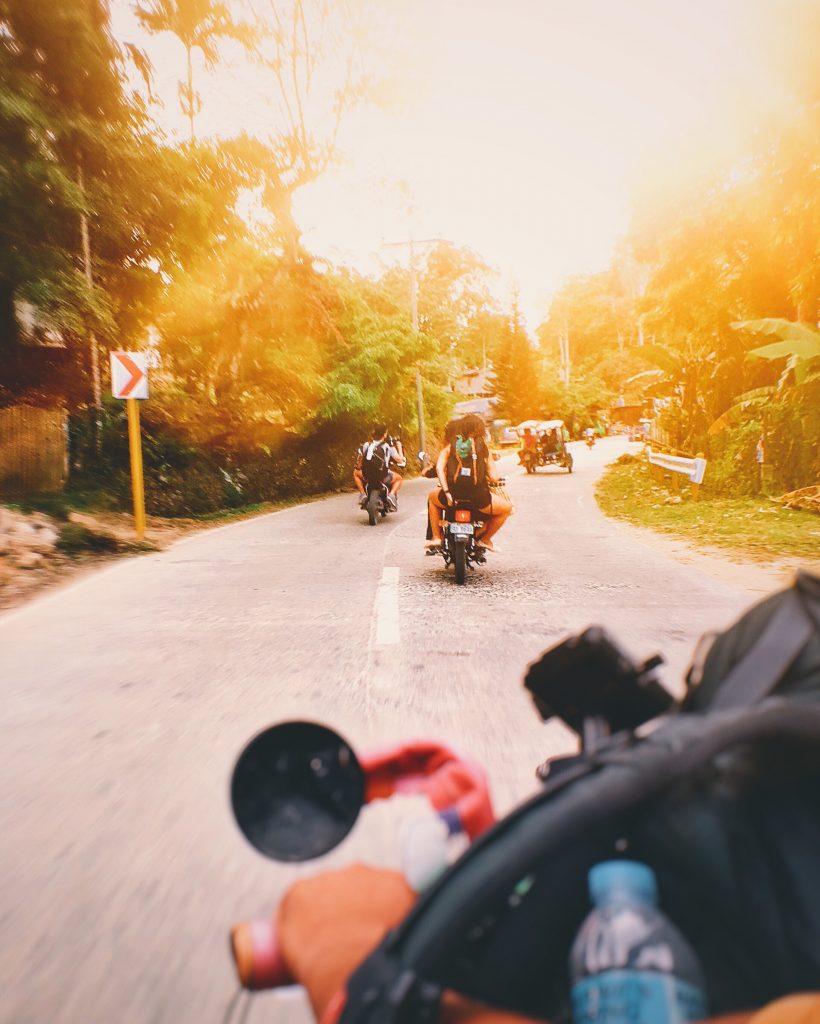 Viajar en motocicleta por Filipinas