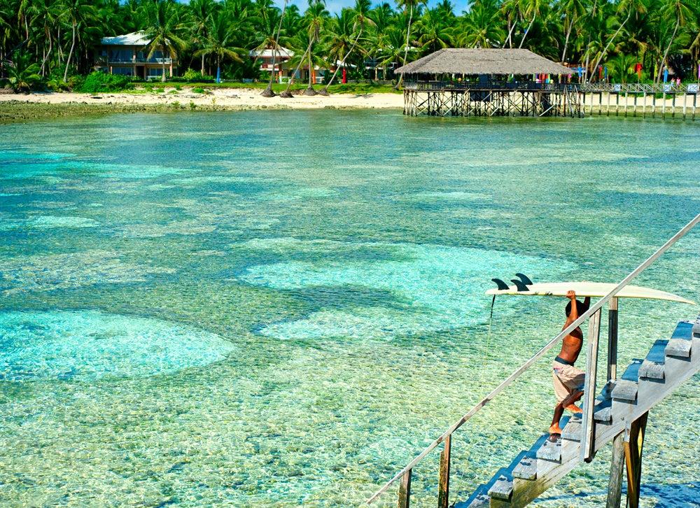 isla de las Palmas, en Siargao, Filipinas