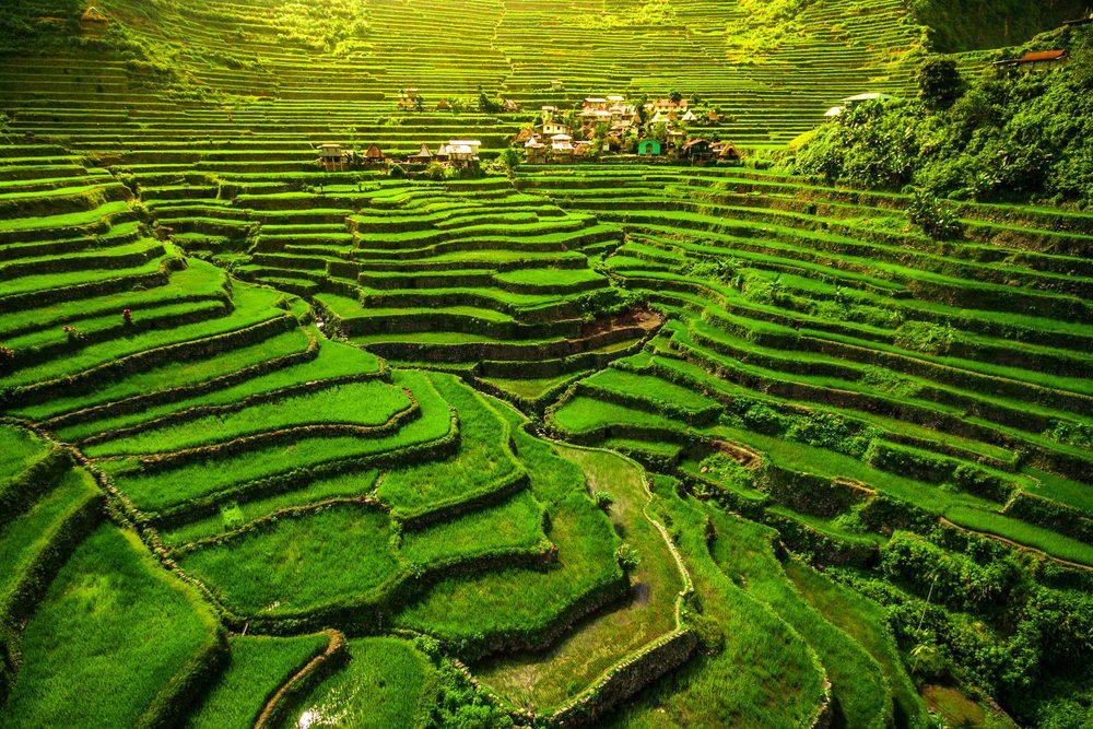 Las terrazas de arroz de Batad, declaradas Patrimonio de la Humanidad por la UNESCO