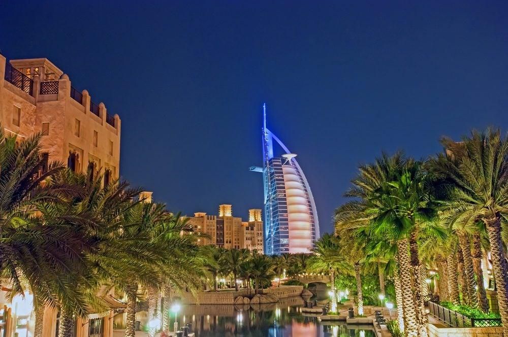 Burj Al Arab Hotel en Dubái