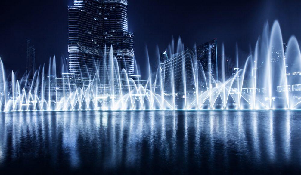 Funete de Dubái, la más grande del mundo