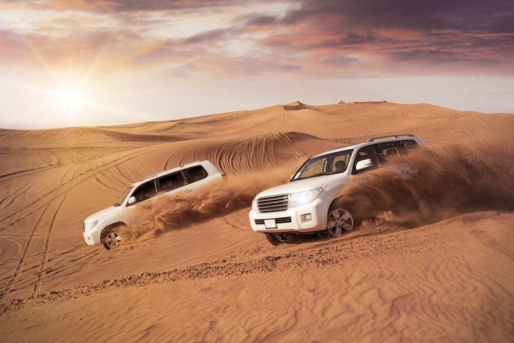 Safari en el desierto de Dubái
