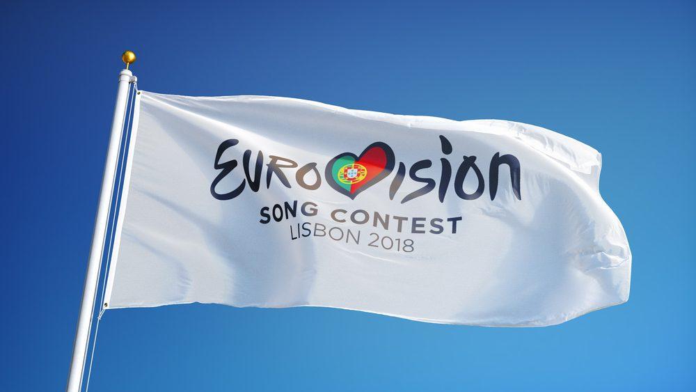 Bandera de Eurovisión Lisboa 2018