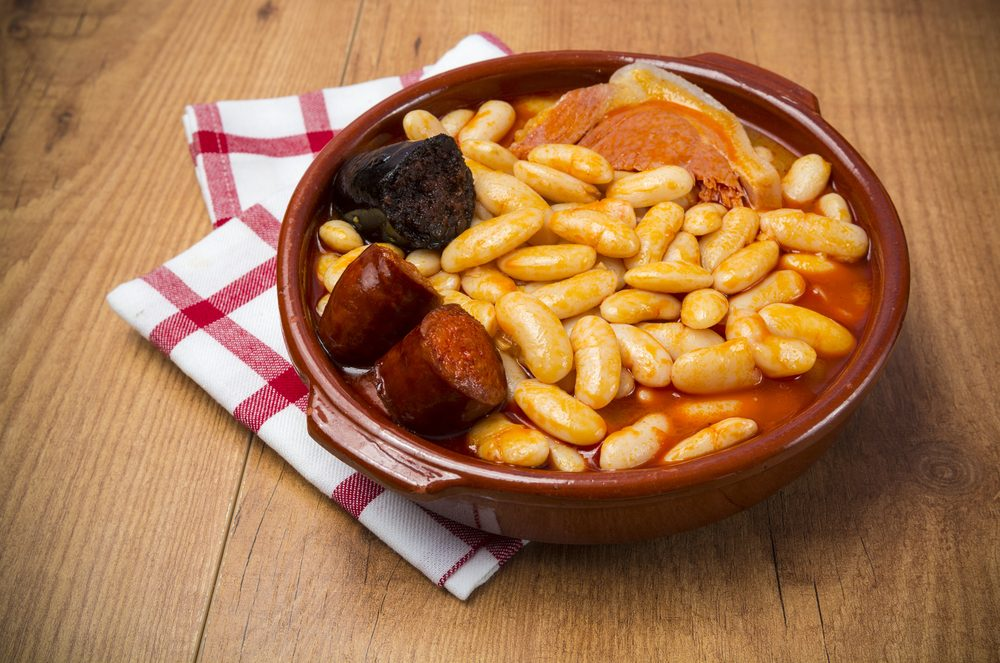 la cocina española , Fabada asturiana