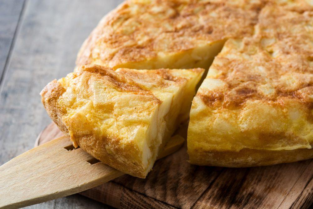 Cocina española: tortilla de patatas