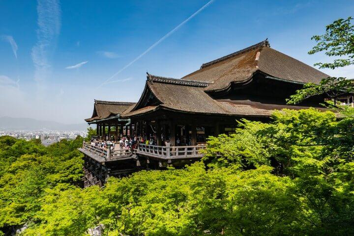 Templo Kiyomizu-Dera o templo del agua pura en Kioto