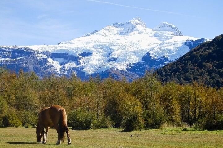Vista del Cerro Tronador en San Carlos de Bariloche