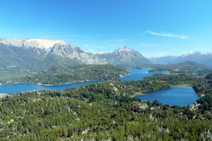 Lago Nahuel Huapi en San Carlos Bariloche