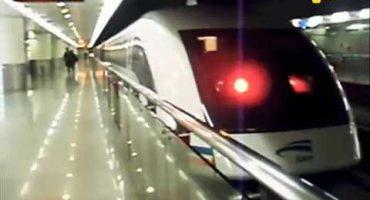 Maglev, el nuevo tren de alta velocidad japonés