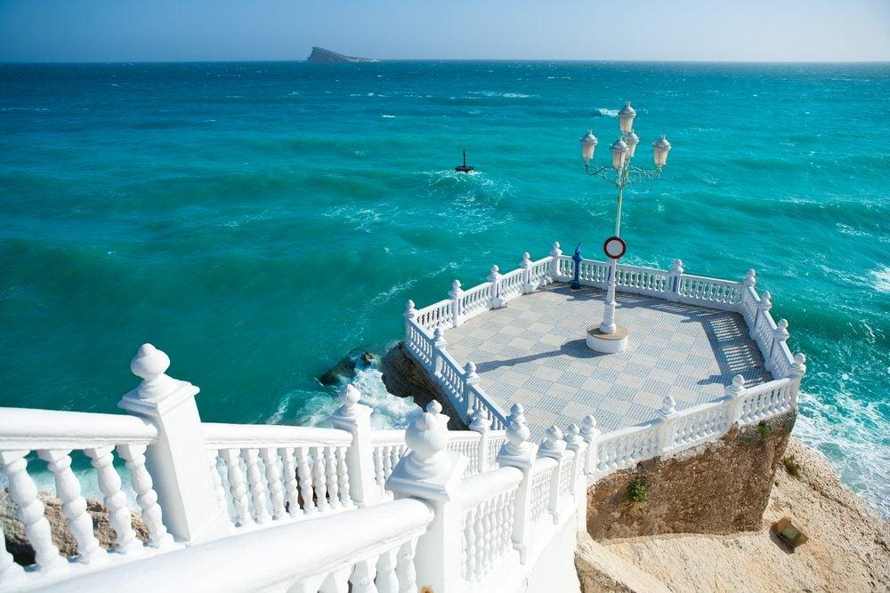 El Mirador del Castillo o Balcón del Mediterráneo en Benidorm, Comunitat Valenciana