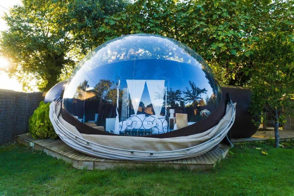 El hotel burbuja Mil Estrelles en Girona