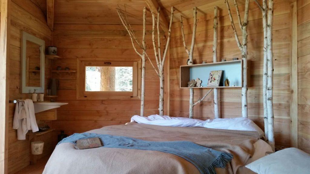 Hotel original: cabaña en los árboles