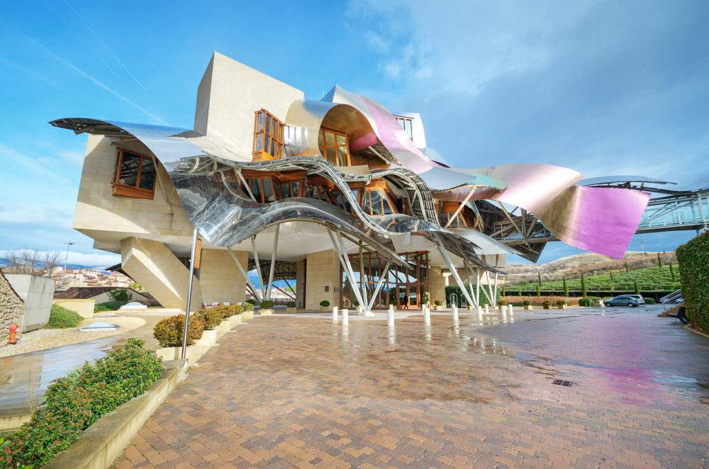 Hotel Marques de Riscal en La Rioja