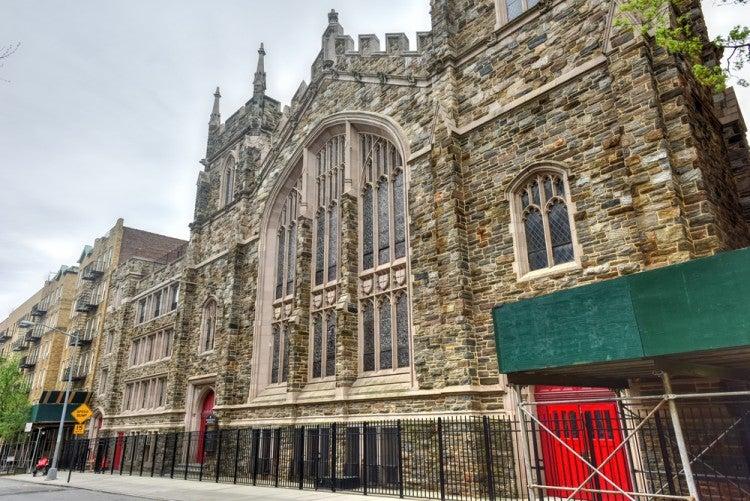 Abyssinian Baptist Church en el barrio de Harlem en Nueva York
