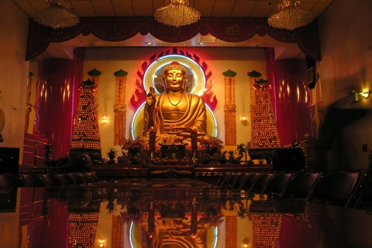 Templo Budista en Nueva York