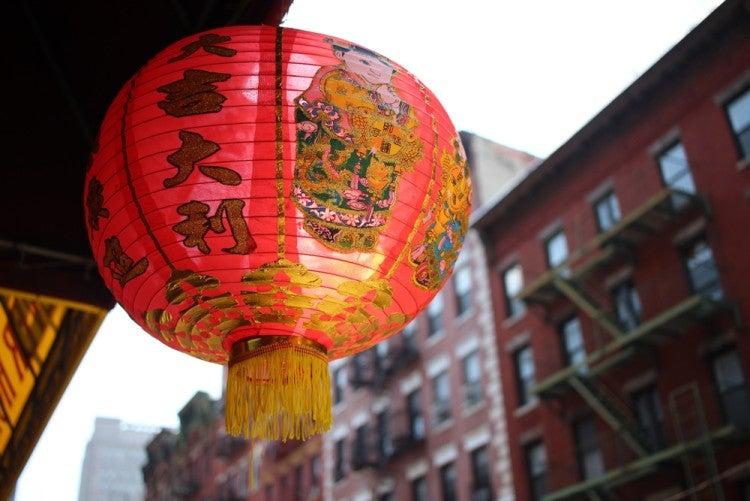 Barrio de Chinatown en Nueva York