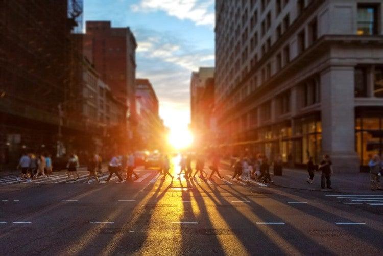Solsticio de Manhattan en Nueva York