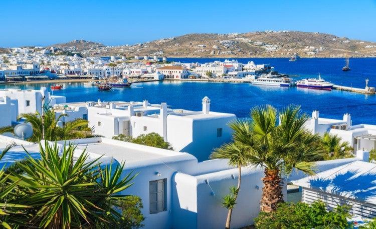 Isla griega de Miconos