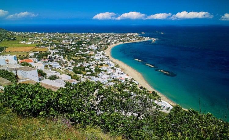 Isla de Skyros, del archipiélago de las Espóradas, en las islas griegas