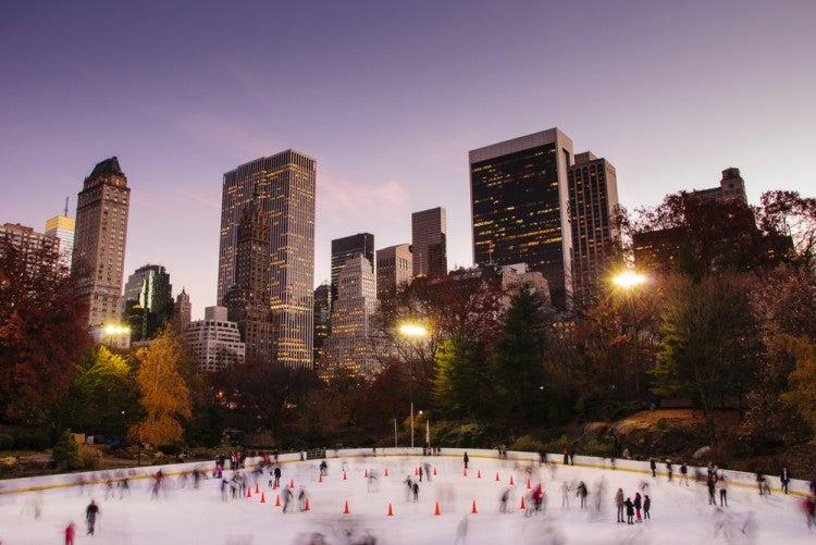Wollman Rink en Central Park, Nueva York