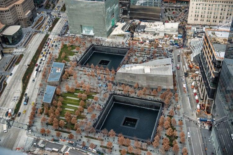 Memorial del World Trade Center en Nueva York