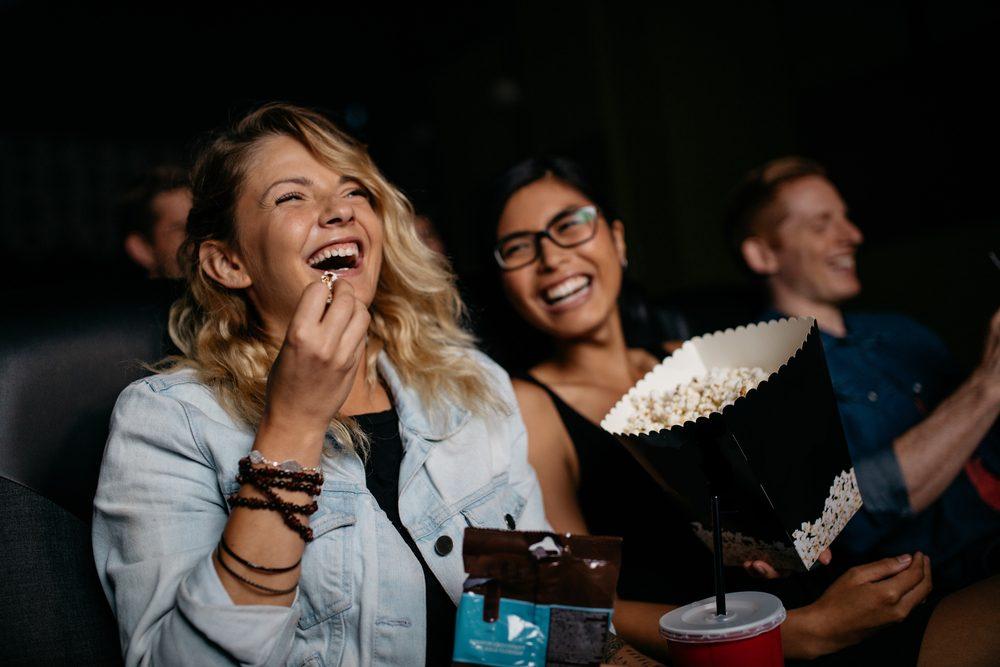 chicas en el cine
