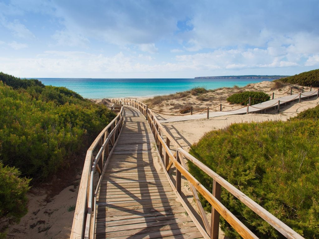 itinerarios verdes Formentera