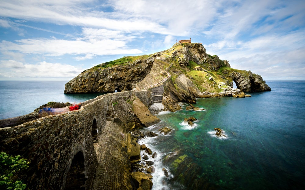Camino a la isla Gaztelugatxe Pais Vasco