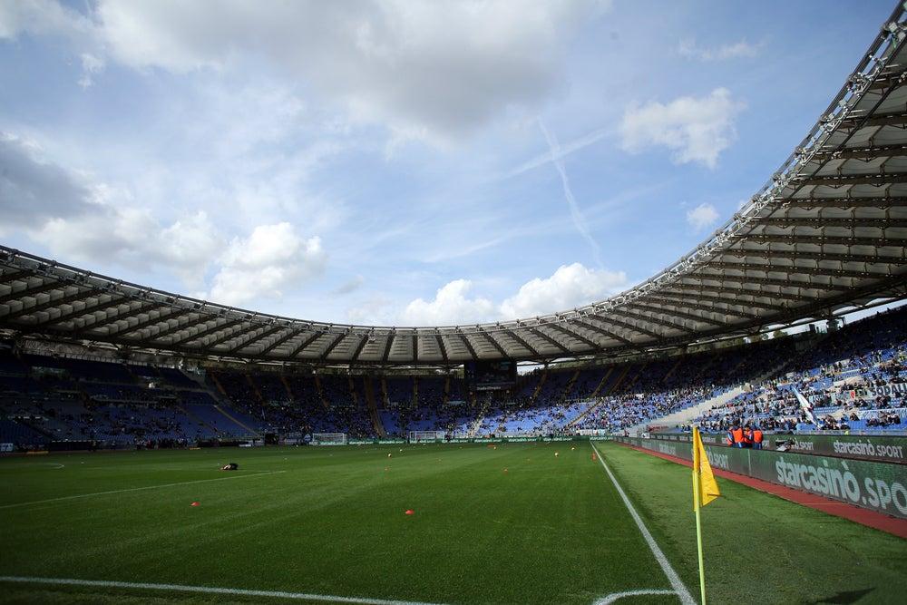 Estadio Olímpico de Roma, sede del club de fútbol AS Roma