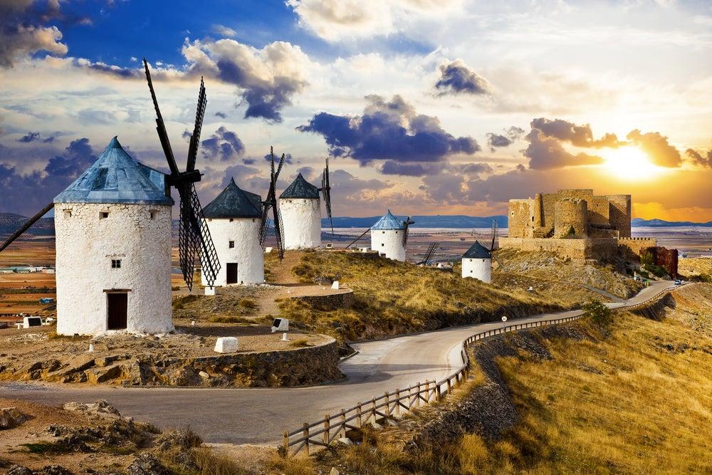 Ruta de los molinos Consuegra Castilla-La Mancha