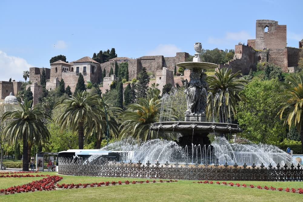 Alcazaba de Málaga, antigua ciudadela de la época islámica
