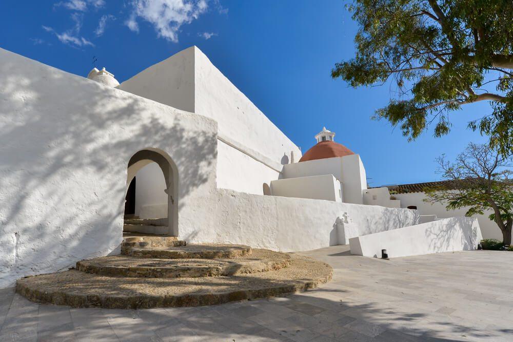 Iglesia de Santa Eulària des Riu, Ibiza, Islas Baleares