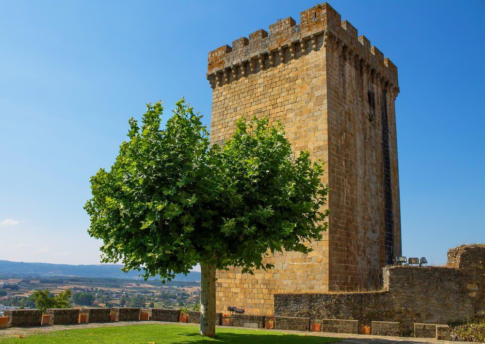 Torre del Homenaje en Monforte de Lemos, en la Ribeira Sacra, Galicia