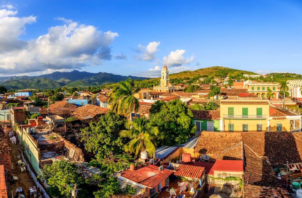 Casas coloniales del casco histórico de Trinidad, en Cuba