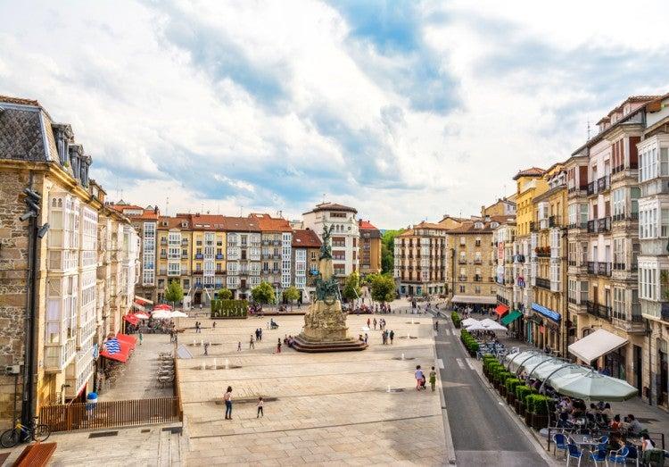 Casco Antiguo, Almendra, de Vitoria Gasteiz, País Vasco